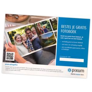 Gratis Pixum Fotoboek