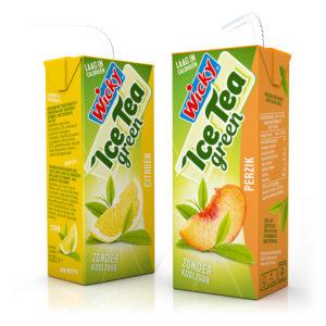 Ice Tea green Citroen & Perzik