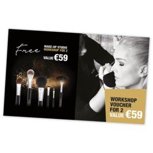 Free workshop for 2 t.w.v € 59